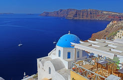 Church in Santorini, Greece Royalty Free Stock Photography