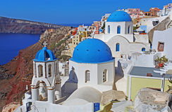 Church in Santorini, Greece Stock Photos
