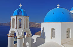 Church in Santorini, Greece royalty free stock images