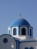 Church in Santorini Greece Royalty Free Stock Photo