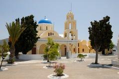 Church in Santorini, Greece Stock Images