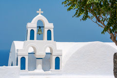Church in Santorini. Greece Royalty Free Stock Image