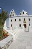 Church santorini greek islands Royalty Free Stock Photo