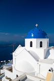 Church on Santorini island Royalty Free Stock Photography