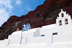 Church at Santorini island in Greece Royalty Free Stock Photo