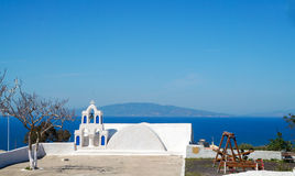 Church at Santorini island in Greece Royalty Free Stock Photos