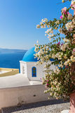 Church on Santorini island, Oia Royalty Free Stock Image