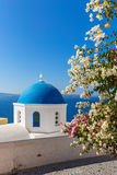 Church on Santorini island, Oia Royalty Free Stock Photo