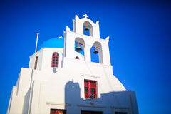 Church on Santorini Stock Photo