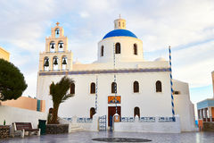 Church on Santorini Stock Photography