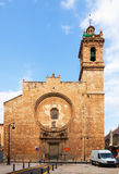Church of Santos Juanes. Valencia Royalty Free Stock Image