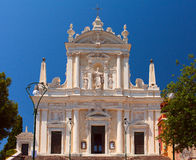 Church of Santuario di Nostra Signora della Lettera. Italy. Royalty Free Stock Images