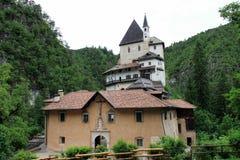 The church Santuario Di S. Romedio Stock Image