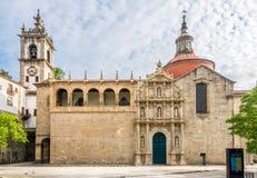 Church Sao Domingos and monastery Sao Goncalo in Amarante ,Portugal Stock Photography