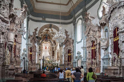 Church of Sao Francisco de Assis Stock Photos