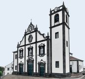 Church at Sao Miguel Island Royalty Free Stock Images