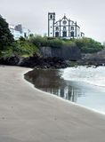 Church at Sao Miguel Island Stock Photo
