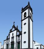 Church at Sao Miguel Island Stock Photography