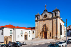 Church of Sao Salvador Royalty Free Stock Images