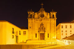 Church of Sao Salvador Royalty Free Stock Images
