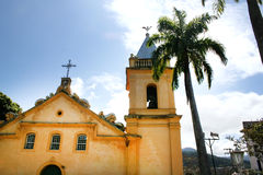 Church in Sao Sebstiao Stock Photography