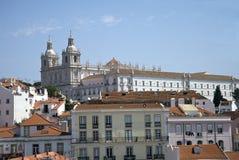 Church Sao Vicente de fora, Lsibon, Portugal Royalty Free Stock Image