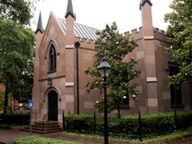 Church in Savannah in Georgia USA Stock Photo