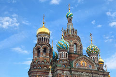 Church of  Savior on Blood Stock Photos
