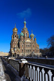 Church of the Savior on Blood Royalty Free Stock Image
