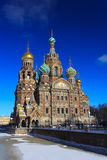 Church of the Savior on Blood Stock Image