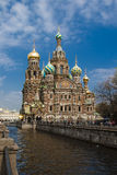 Church of the Savior on Blood. Spas-na-krovi cathedral in St.Petersburg, Russia Stock Image