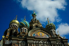 Church of the Savior on Blood. In Petersburg Royalty Free Stock Images