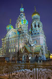 Church of the Savior on the Blood of Christ Royalty Free Stock Photo