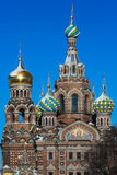 Church of the Savior on the Blood of Christ Royalty Free Stock Images