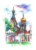 Church of the Savior on Blood Royalty Free Stock Image