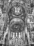Church of the Savior on Blood, interior, St. Petersburg, Russia Royalty Free Stock Photography