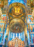 Church of the Savior on Blood, interior, St. Petersburg, Russia Royalty Free Stock Photos
