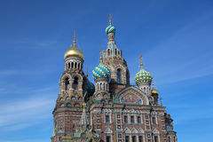 Church of the Savior on Blood at Petersburg,Russia Stock Images