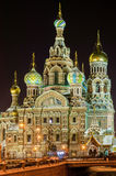 Church of the Savior on Blood . Royalty Free Stock Photos