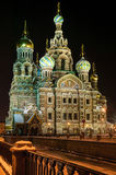 Church of the Savior on Blood . Royalty Free Stock Images