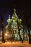 Church of the Savior on Blood . Royalty Free Stock Image