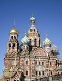 Church of the Savior on Blood in Saint Petersburg Stock Image