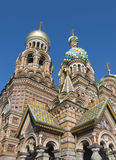 Church of the Savior on Blood in Saint Petersburg Royalty Free Stock Photo