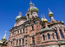 Church of the Savior on Blood, Saint-Petersburg Royalty Free Stock Images