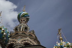 Church. Of the Savior on Blood, Saint-Petersburg Royalty Free Stock Image