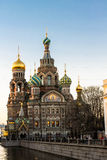 Church of the Savior on Blood Royalty Free Stock Photo
