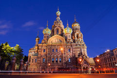 Church of the Savior on Blood, Saint-Petersburg, Russia Royalty Free Stock Photo