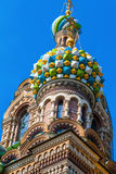 Church of the Savior on blood in Saint-Petersburg Royalty Free Stock Image