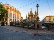 Church of the Savior on Spilled Blood, St. Petersburg. Russia Stock Images