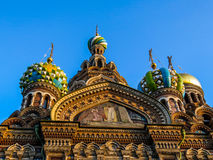 Church of the Savior on Spilled Blood, St. Petersburg. Russia Royalty Free Stock Images